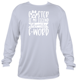 FOSTER IS MY SECOND FAVORITE F-WORD (Long Sleeve Shirt)