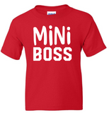 Mini Boss Youth T-Shirt