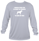 ZOMBIE DOG (Long Sleeve Shirt)
