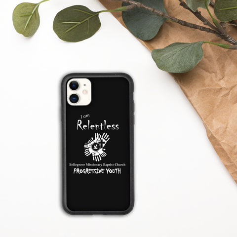 I AM RELENTLESS Biodegradable IPhone case