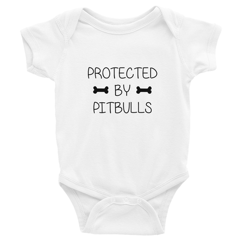 Protected by Pitbulls T-Shirt