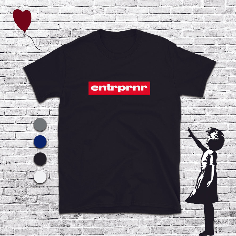 Official Red Brand – ENTRPRNR®️ Unisex T-Shirt