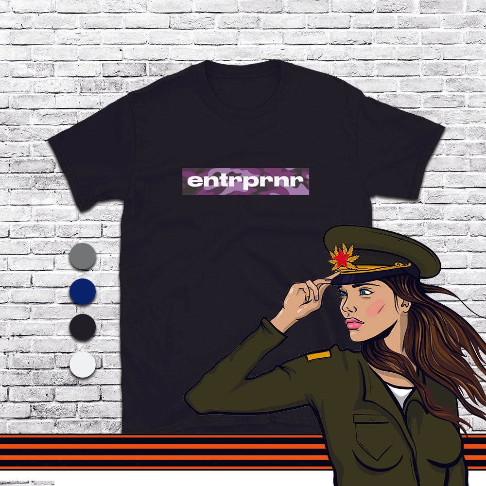 Official Camo Purple – ENTRPRNR®️ Unisex T-Shirt