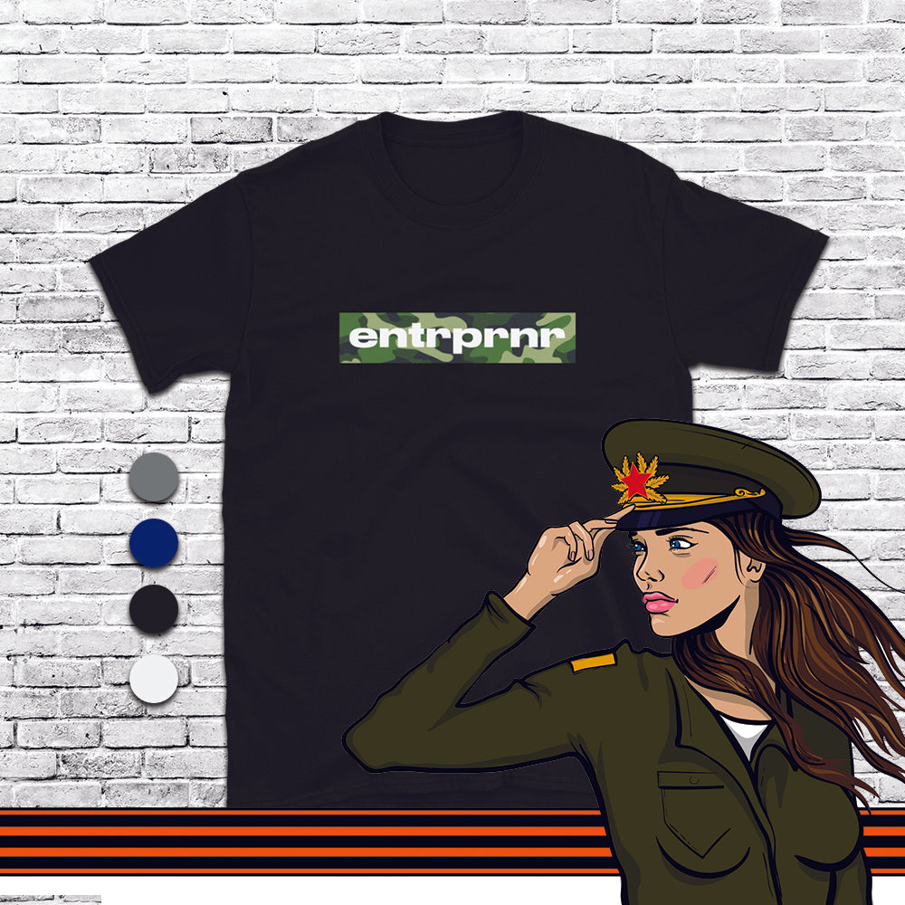Load image into Gallery viewer, Official Camo Green – ENTRPRNR®️ Unisex T-Shirt