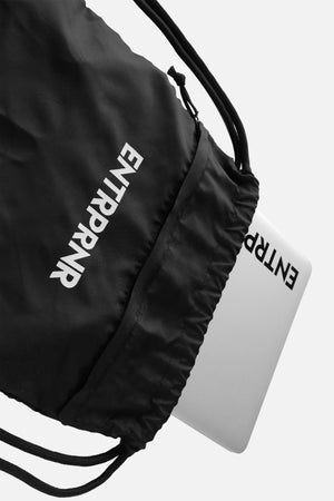Load image into Gallery viewer, ENTRPRNR Drawstring Bag - ENTRPRNR® | The Entrepreneur's Clothing Brand. | Stagnancy is the Enemy. Action is King.