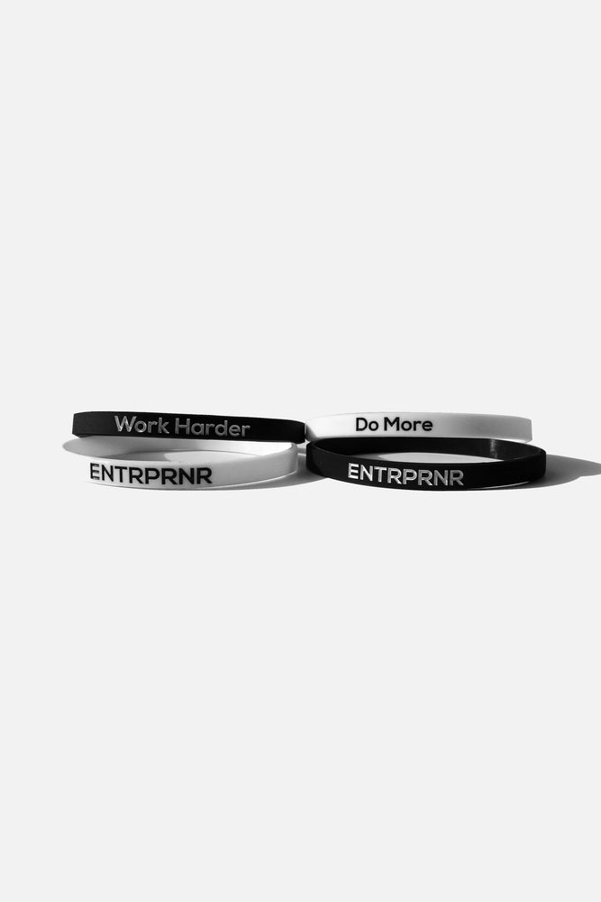 ENTRPRNR Reminder Bands - ENTRPRNR® | The Entrepreneur's Clothing Brand. | Stagnancy is the Enemy. Action is King.