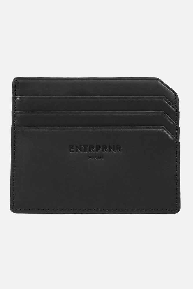Full Grain Leather ENTRPRNR Card Holder - ENTRPRNR® | The Entrepreneur's Clothing Brand. | Stagnancy is the Enemy. Action is King.