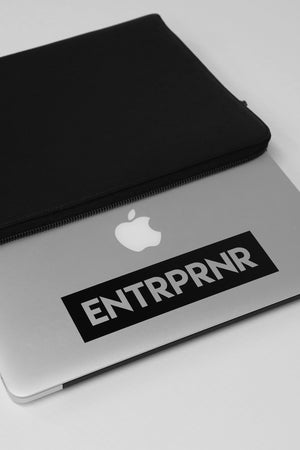 Premium ENTRPRNR Classic Decals - ENTRPRNR® | The Entrepreneur's Clothing Brand. | Stagnancy is the Enemy. Action is King.