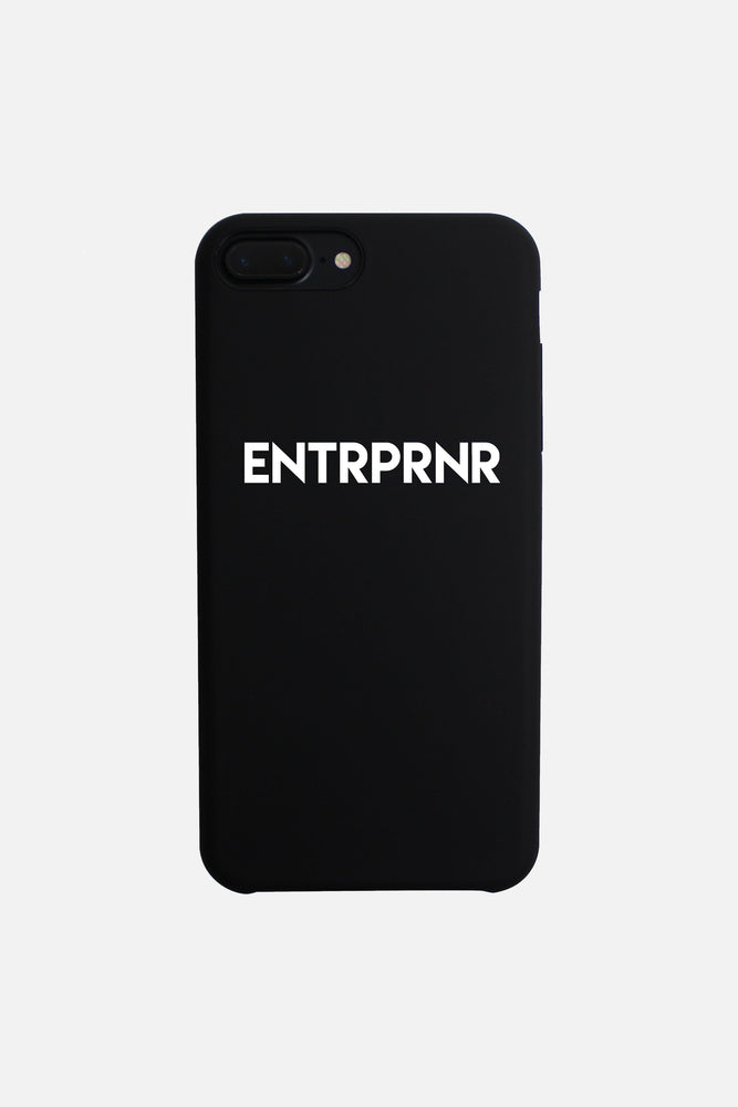 Load image into Gallery viewer, Signature ENTRPRNR iPhone 7+ & 8+ PLUS Case - Black - ENTRPRNR® | The Entrepreneur's Clothing Brand. | Stagnancy is the Enemy. Action is King.