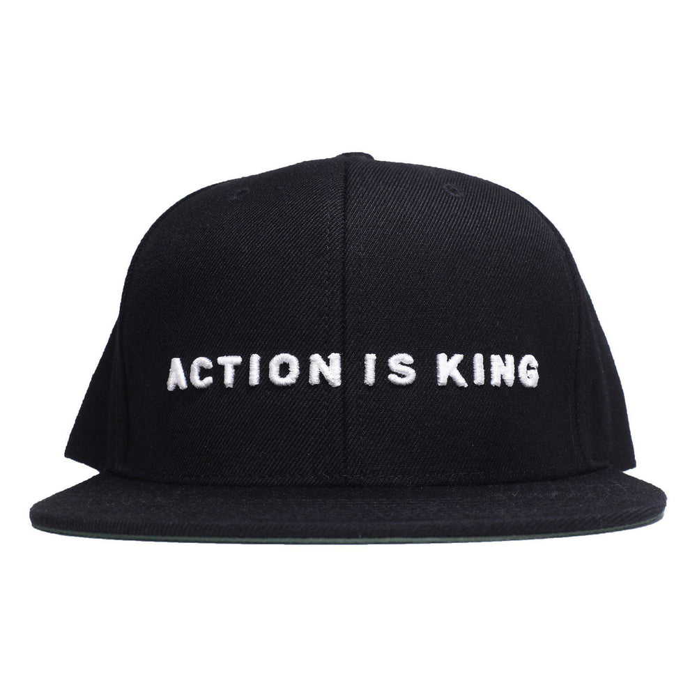 Action is King ENTRPRNR Snapback - ENTRPRNR® | The Entrepreneur's Clothing Brand. | Stagnancy is the Enemy. Action is King.