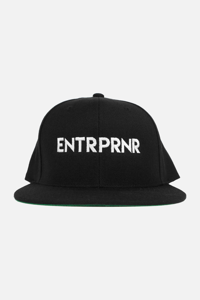 Logo ENTRPRNR Snapback - ENTRPRNR® | The Entrepreneur's Clothing Brand. | Stagnancy is the Enemy. Action is King.