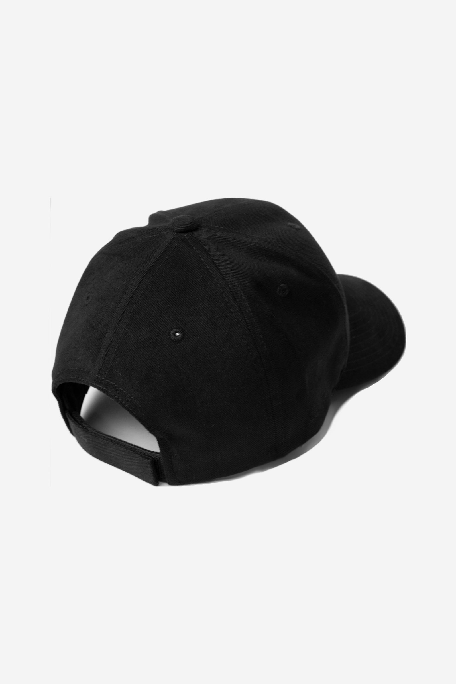Script Strap Back Hat - Black - ENTRPRNR® | The Entrepreneur's Clothing Brand. | Stagnancy is the Enemy. Action is King.
