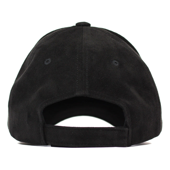 Suede ENTRPRNR Sport Cap - Black - ENTRPRNR® | The Entrepreneur's Clothing Brand. | Stagnancy is the Enemy. Action is King.