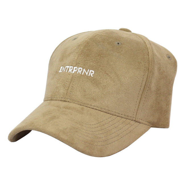 Suede ENTRPRNR Sport Cap – Sand - ENTRPRNR® | The Entrepreneur's Clothing Brand. | Stagnancy is the Enemy. Action is King.