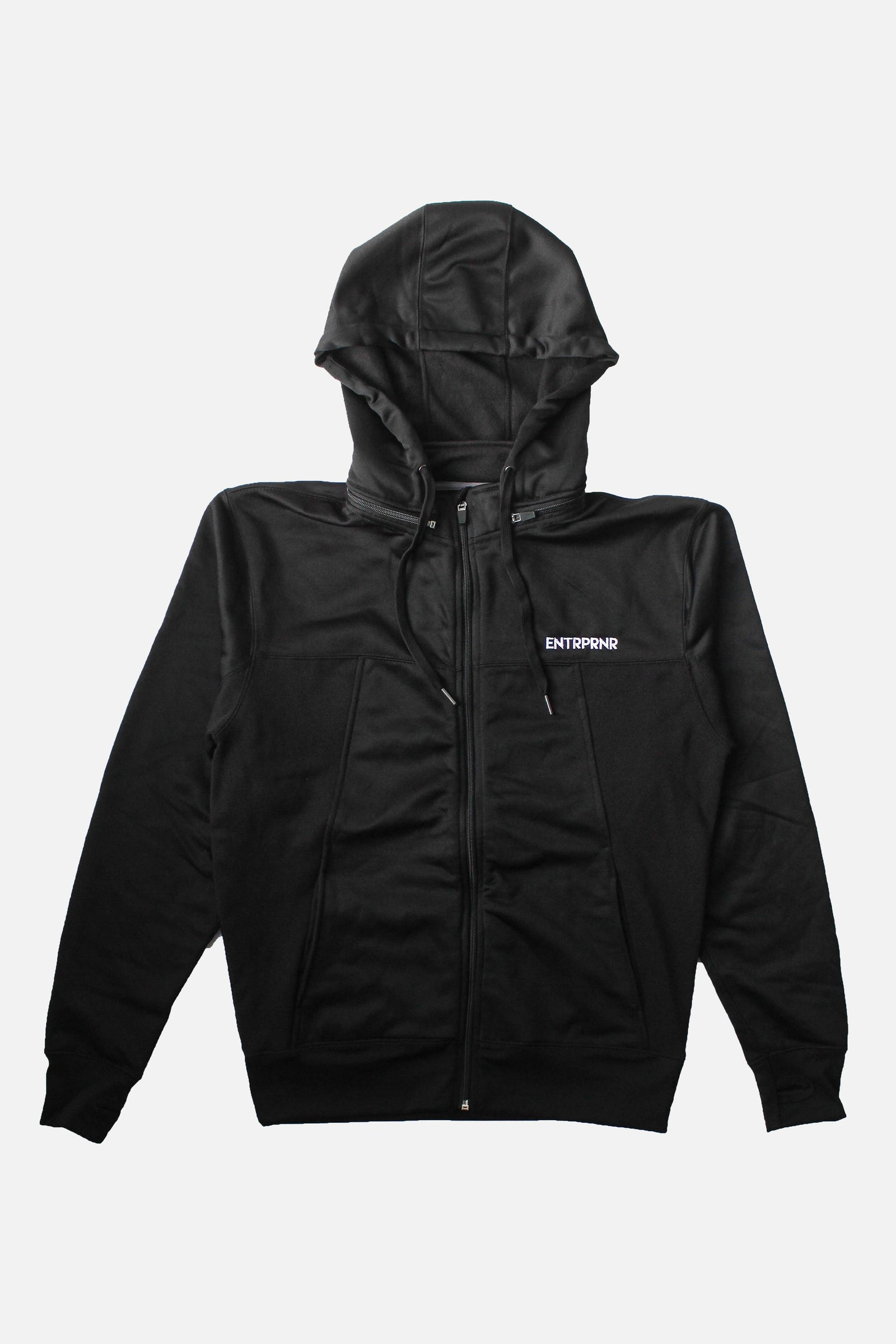 ENTRPRNR Premium Tech Jacket - Black - ENTRPRNR® | The Entrepreneur's Clothing Brand. | Stagnancy is the Enemy. Action is King.
