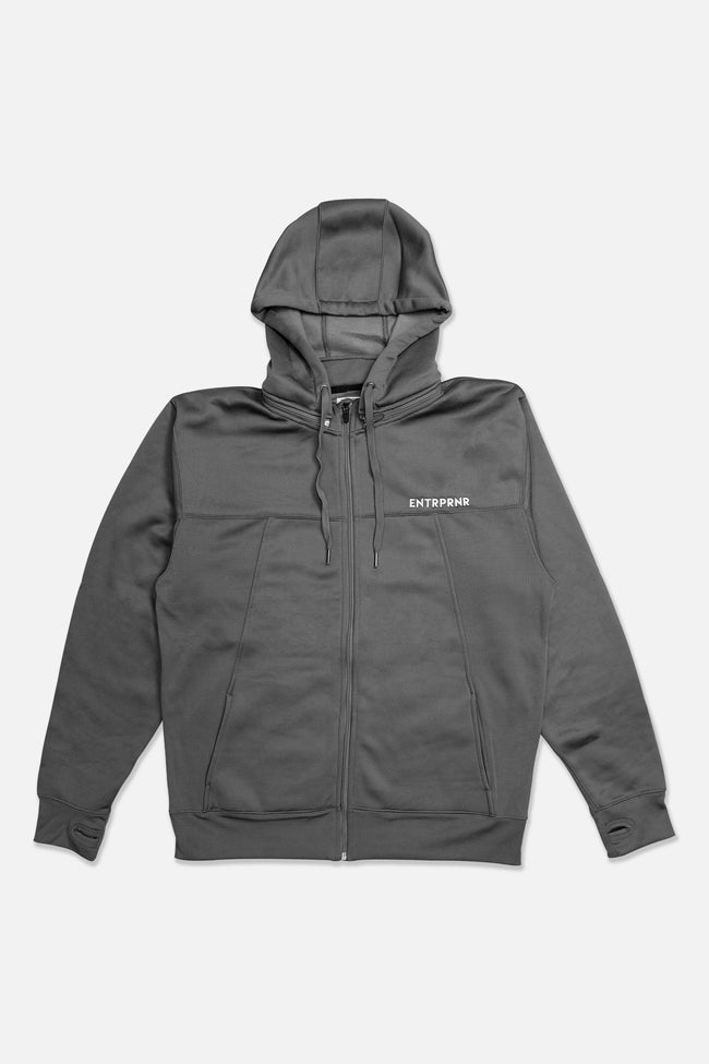 Outerwear - ENTRPRNR Premium Tech Jacket - Charcoal