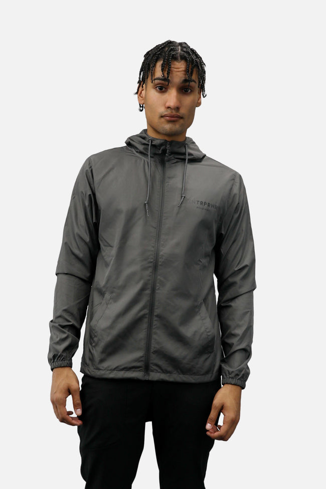Outerwear - ENTRPRNR Worldwide Windbreaker - Graphite
