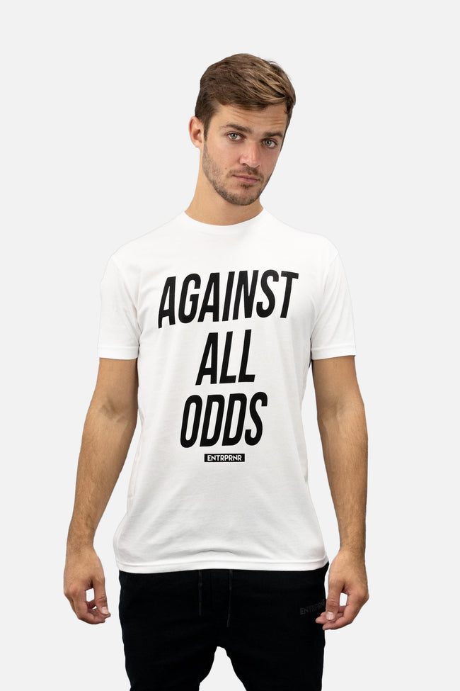 Shirts - Against All Odds ENTRPRNR Tee - White