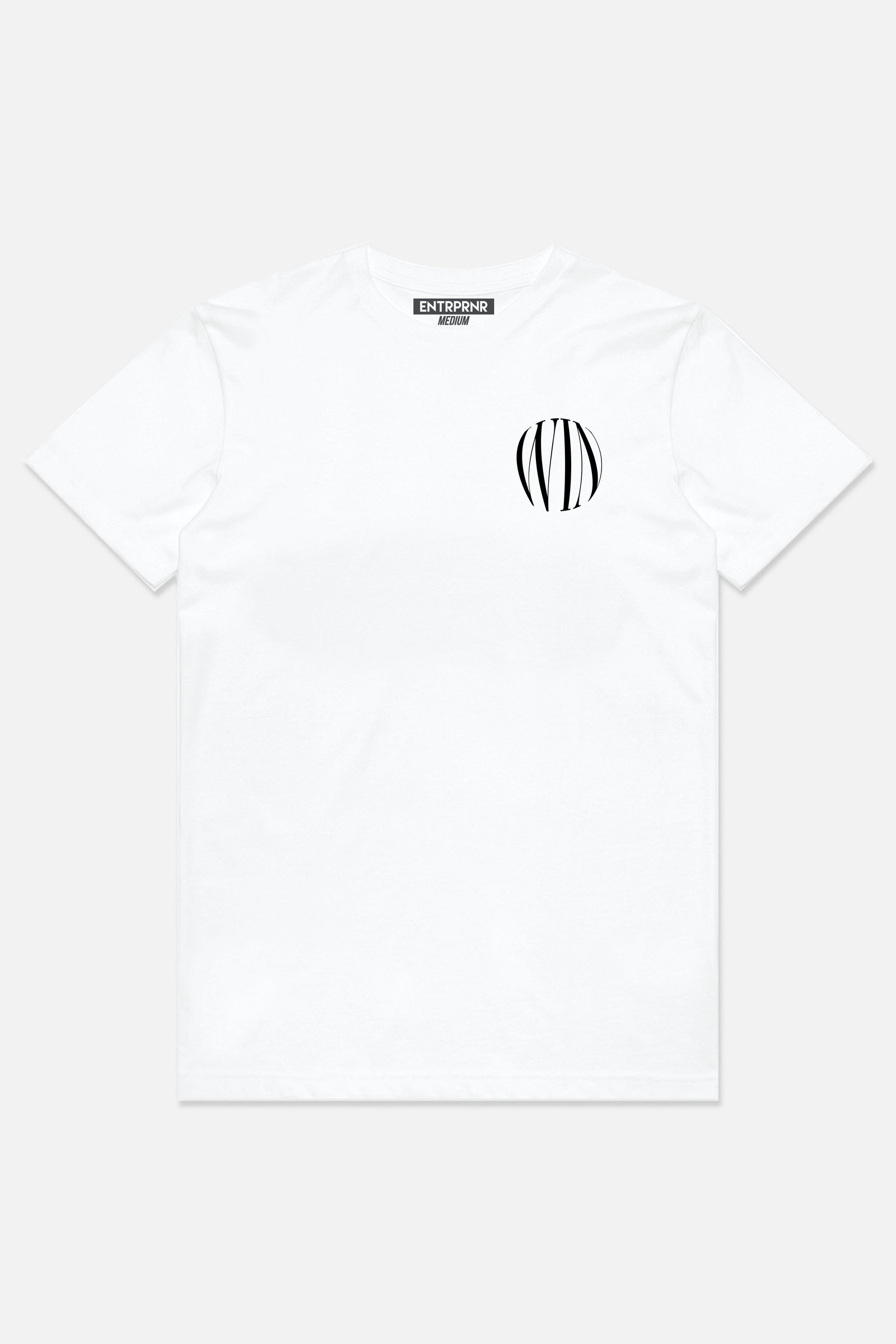 Win Tee - White - ENTRPRNR® | The Entrepreneur's Clothing Brand. | Stagnancy is the Enemy. Action is King.