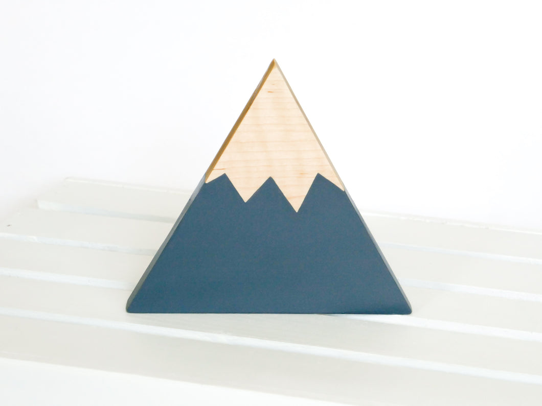 Wooden Mountain - Charcoal Gray - Olympic - CAVU Creations