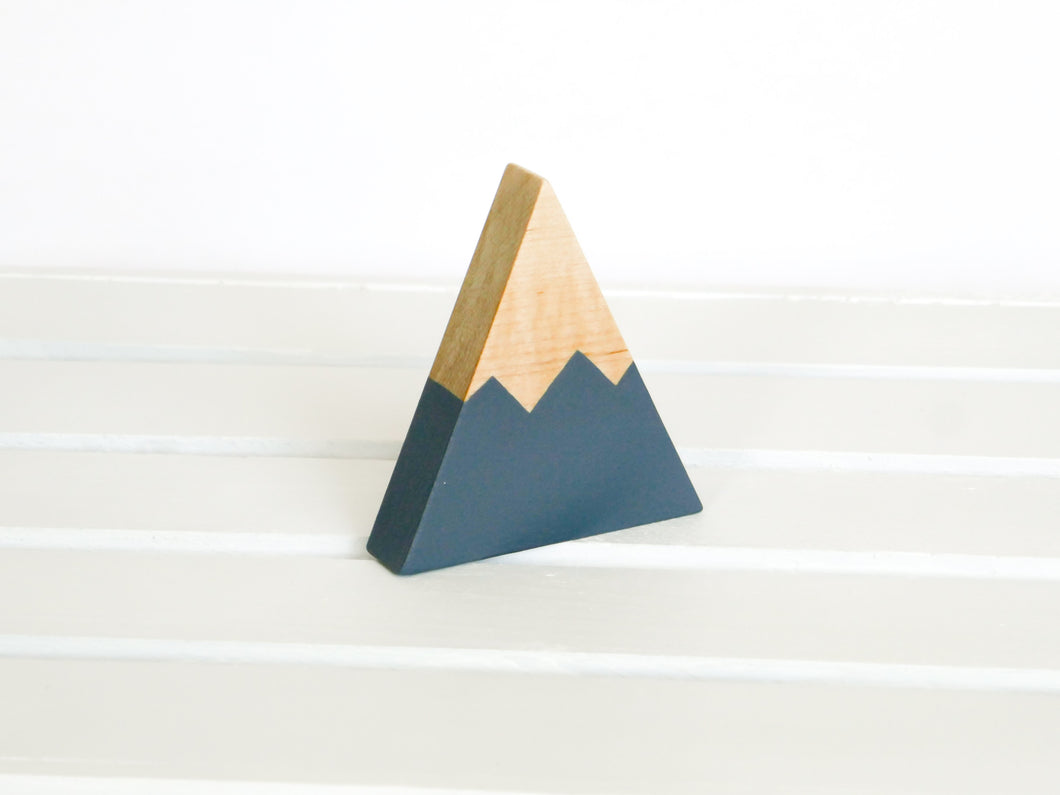 Wooden Mountain - Charcoal Gray - Chelan - CAVU Creations