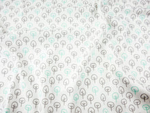 Scattered Trees Organic Baby Leggings - Mint / Gray - CAVU Creations