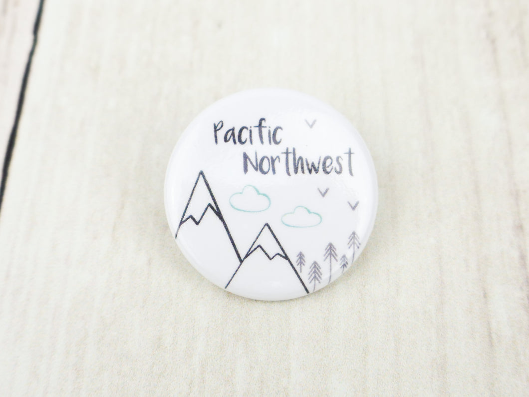 Button Pin - Pacific Northwest - CAVU Creations