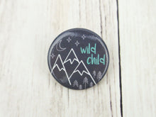 Button Pin - Wild Child - CAVU Creations