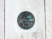 "Sticker - Wild Child 2"" - CAVU Creations"