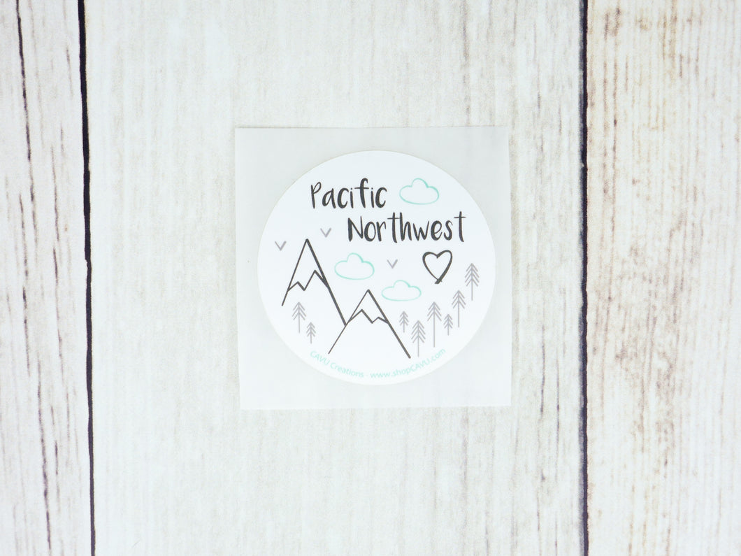 Sticker - Pacific Northwest 2