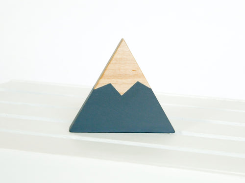 Wooden Mountain - Charcoal Gray - Cascade - CAVU Creations