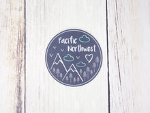 "Sticker / Decal - Pacific Northwest 3"" Gray - CAVU Creations"