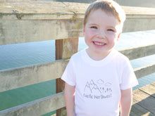 Pacific Northwest Organic Baby/Toddler Tee - White / Gray - CAVU Creations