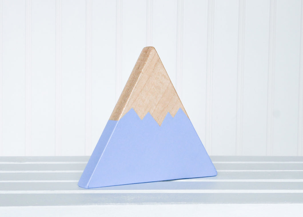 Wooden Mountain - Periwinkle Blue - Olympic - CAVU Creations