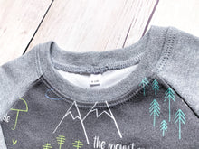 Perfectly PNW Organic Cotton Pullover - Charcoal / Blue / Green / Mint / Heather Gray - CAVU Creations