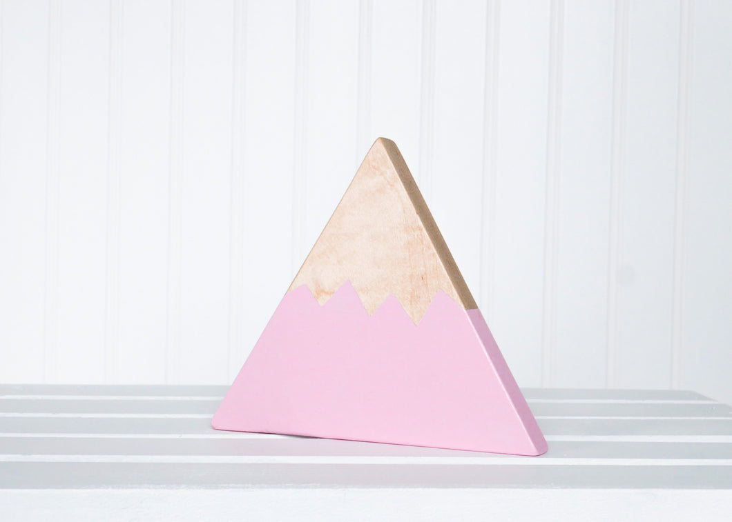 Wooden Mountain - Pink - Olympic - CAVU Creations