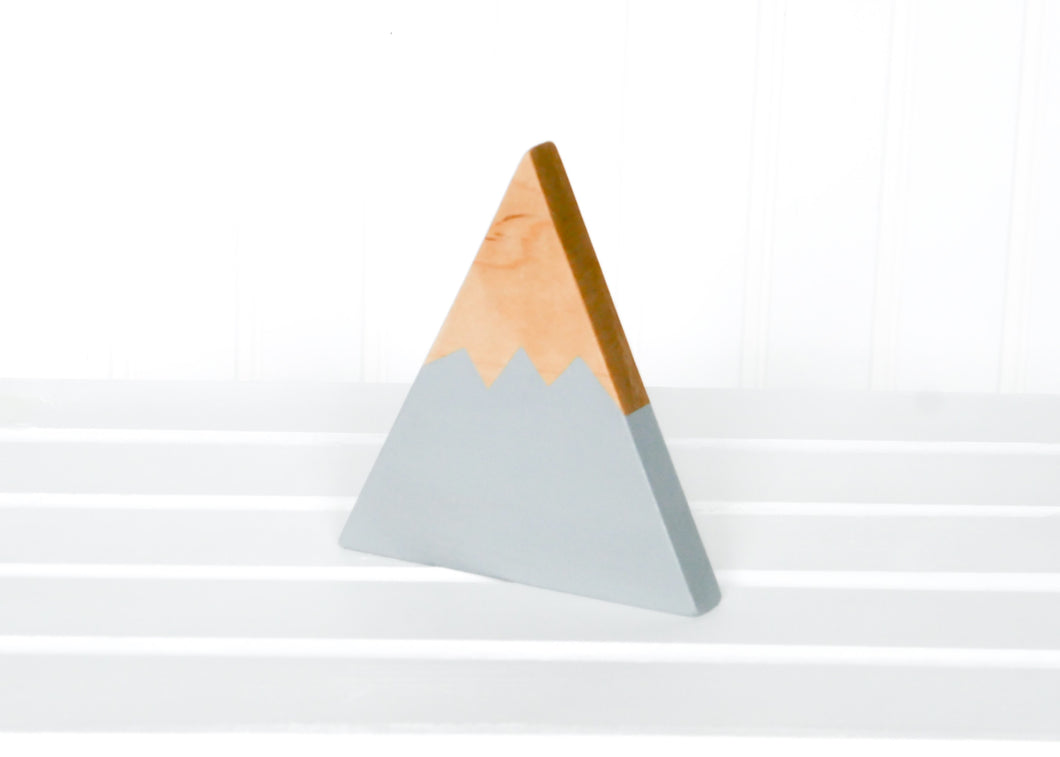 Wooden Mountain - Light Gray - Sierra