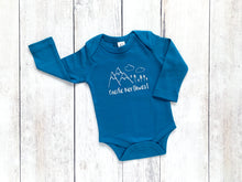 Pacific Northwest Organic Bodysuit - Teal / White