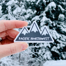 "Sticker / Decal - Mountains Pacific Northwest 3"" - CAVU Creations"