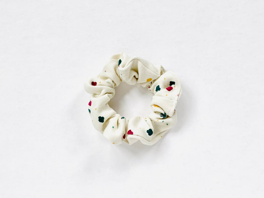Organic Cotton Scrunchie - Dreamer - Multi / Cream