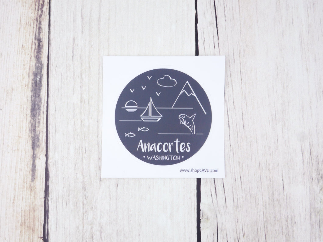 Sticker / Decal - Anacortes 3