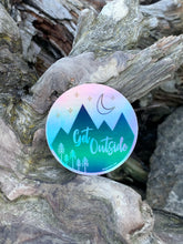 "Sticker / Decal - Get Outside Holographic 3"" - CAVU Creations"