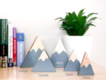 Wooden Mountain - Light Gray - Olympic - CAVU Creations