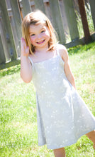 PNW Sun Dress - White / Gray - CAVU Creations