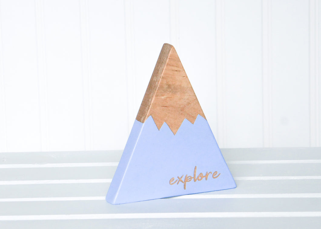 Wooden Mountain - Periwinkle Blue -