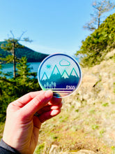 "Sticker / Decal - PNW Circle Holographic 3"" - CAVU Creations"