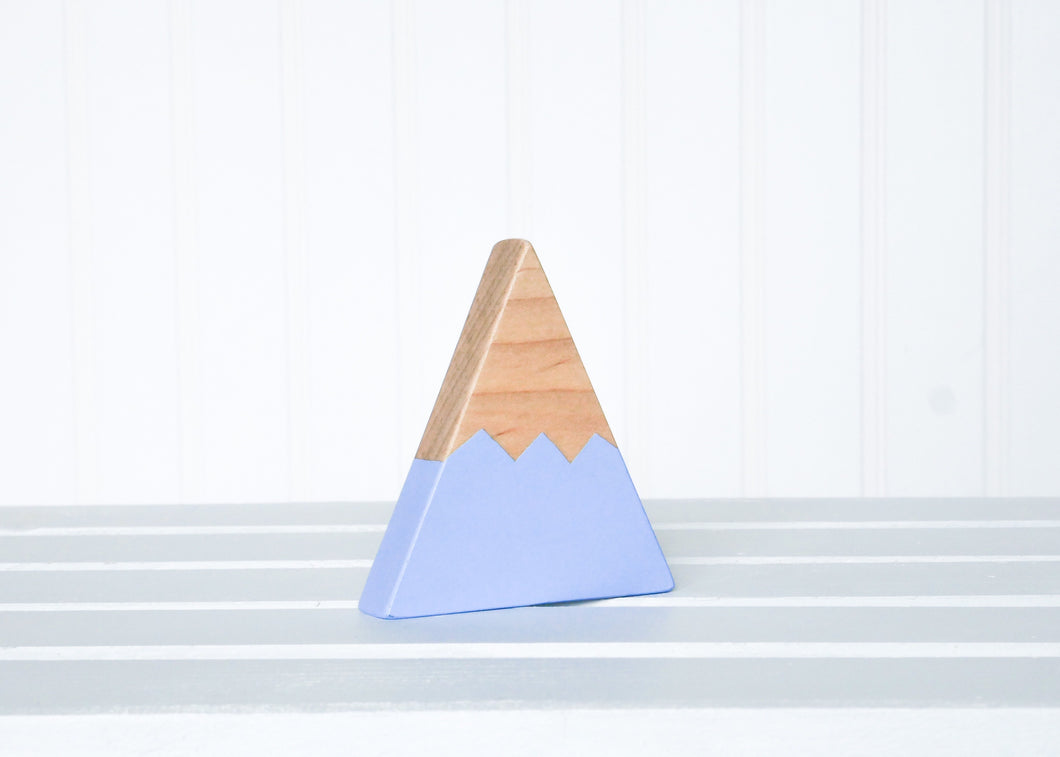 Wooden Mountain - Periwinkle Blue - Chelan - CAVU Creations