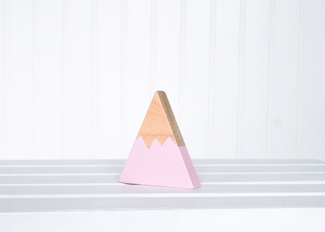 Wooden Mountain - Pink - Chelan - CAVU Creations