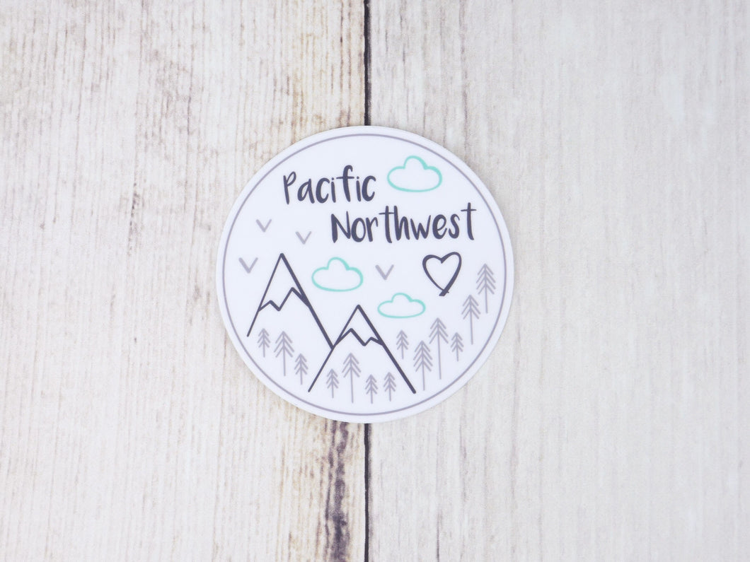 Sticker / Decal - Pacific Northwest 3