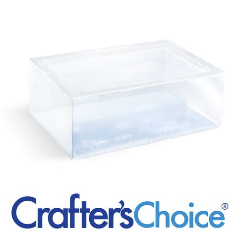 Premium Extra Clear MP Soap Base - 2 lb Tray